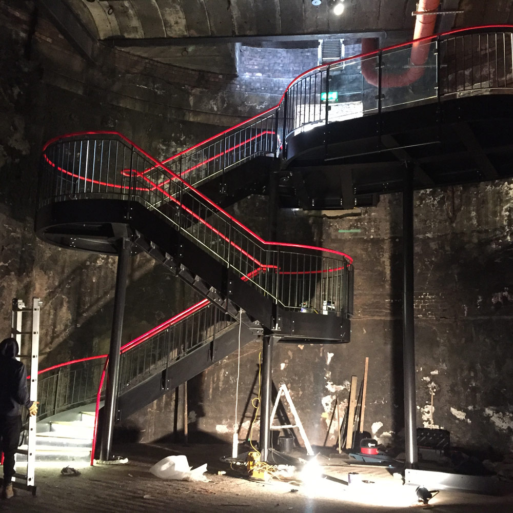 Bespoke Staircase for Brunel Museum in London